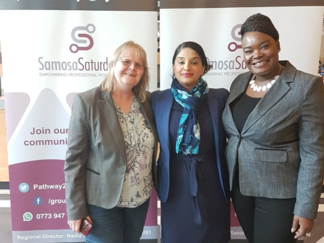Samosa Saturday women only business networking
